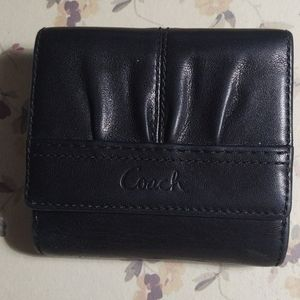Black Coach Ladies Wallet